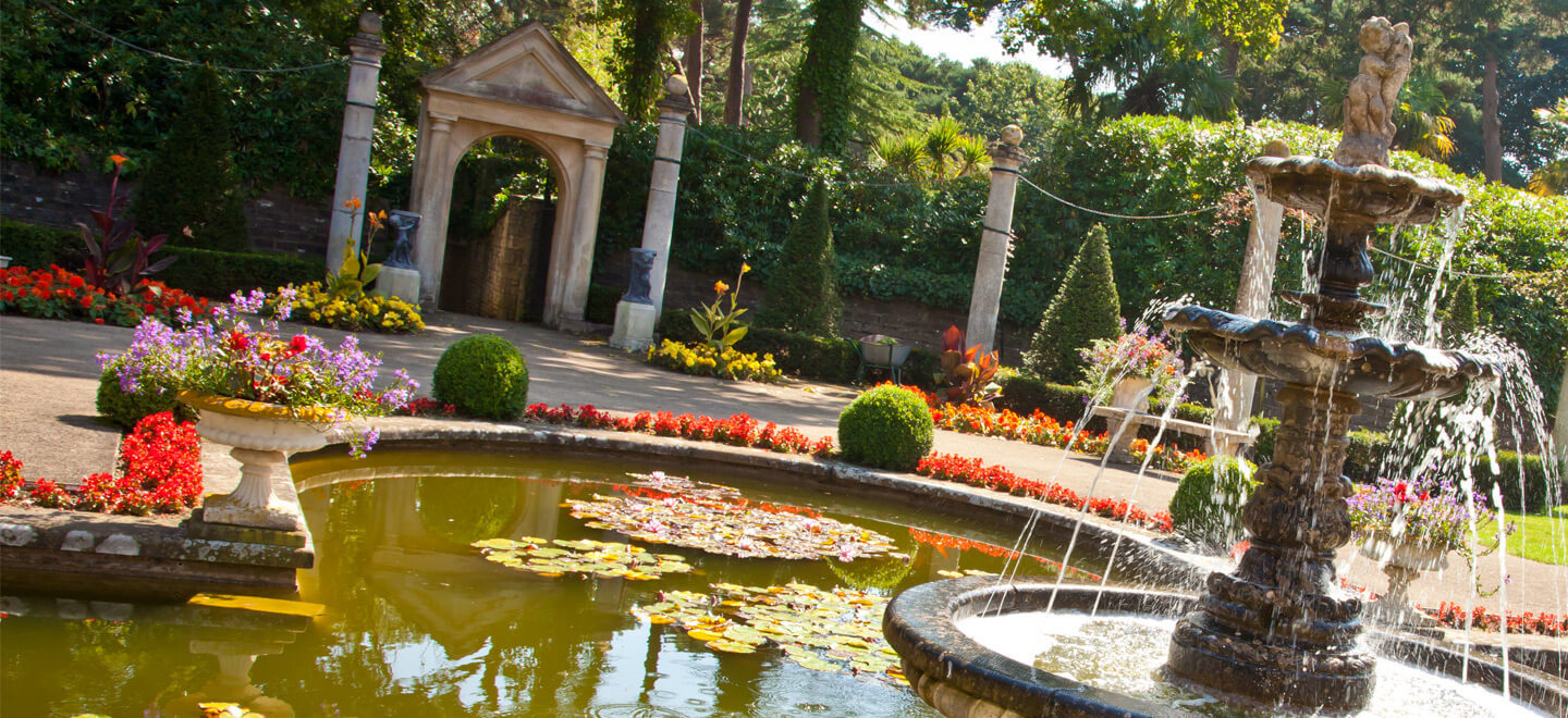 Fountain-at-Italian-Villa-Poole-Wedding-Venue-in-Dorset-on-the-Gay-Wedding-Guide-for-Gay-Dorset