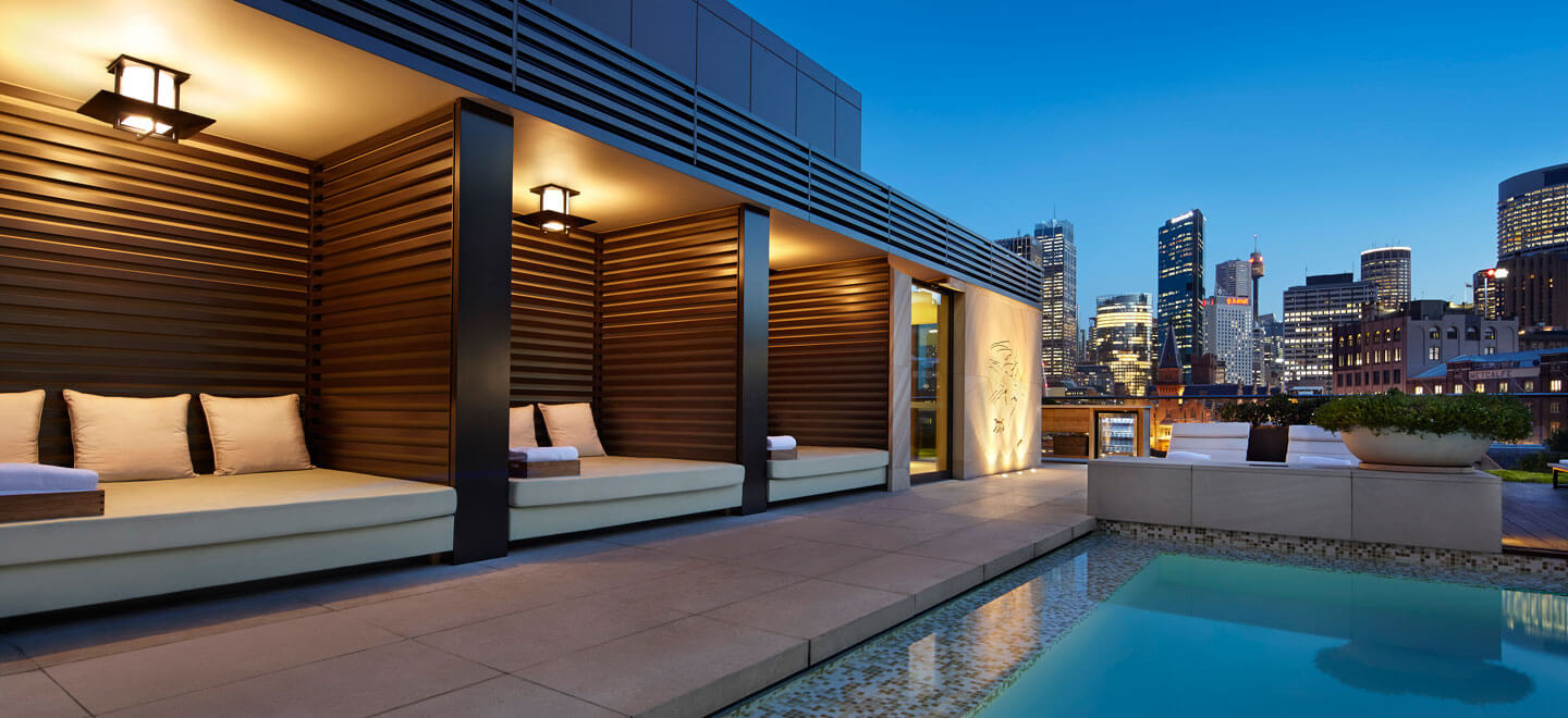GWG-Rooftop-Pool-AT-NIGHT-Park-Hyatt-Sydney-Best-Hotel-Sydney-Luxury-Gay-Honeymoon-Sydney