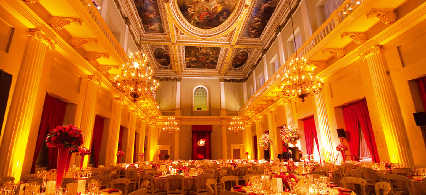 Lit-Ceiling-view-at-Banqueting-House-palace-wedding-venue-via-the-gay-wedding-guide