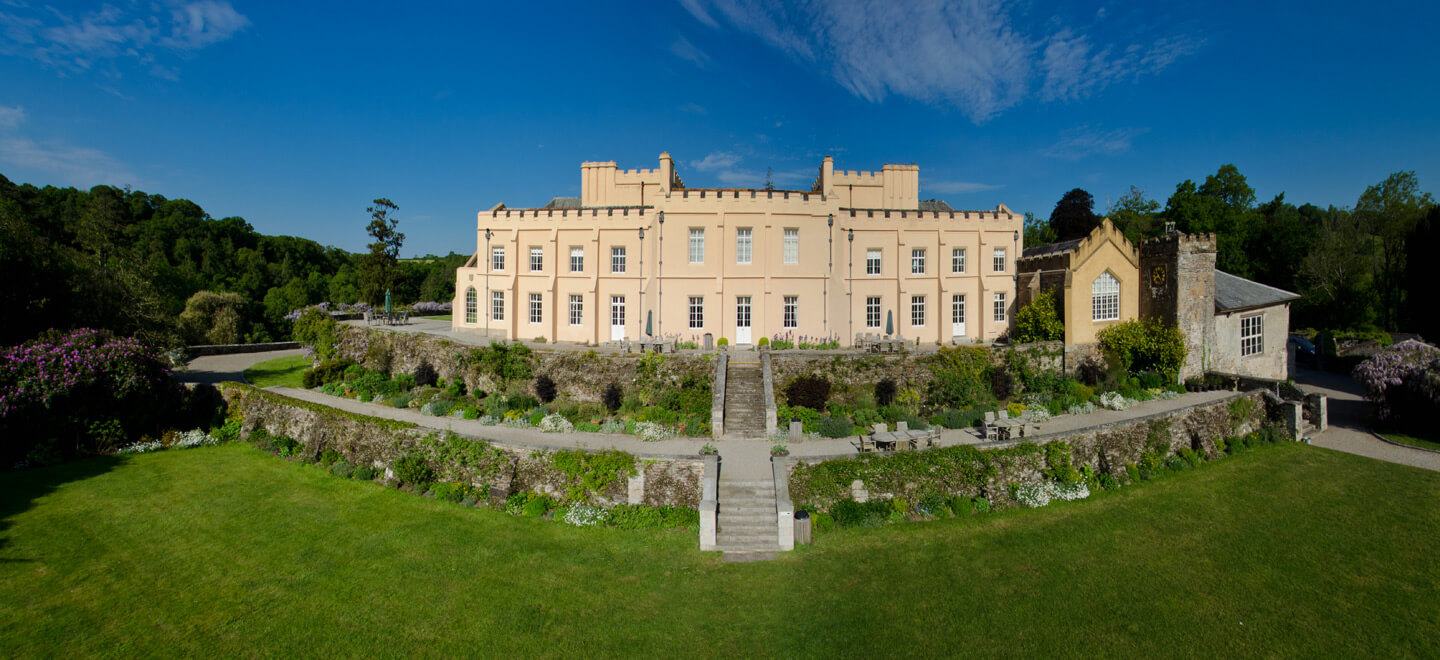 Pentille-Castle-Gay-wedding-venue-Cornwall-luxury-wedding-venue-PL12-Saltash-exterior