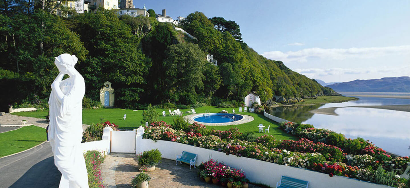 Portmeirion-Civil-Partnership-Venue-Wales-skyline-The-Gay-Wedding-Guide-Civil-Partnership-Portmeirion