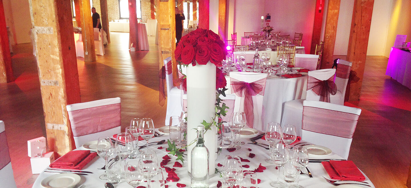 Red-Roses-Museum-of-London-Docklands-City-Museum-Wedding-Venue-London-Reception-Layout-Gay-Wedding-Guide