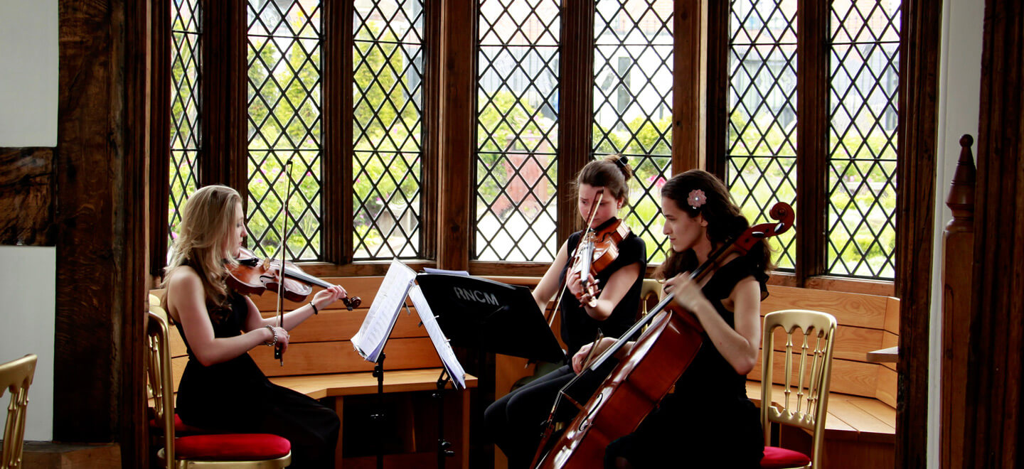 Wedding-Music-Strings-at-Historic-Building-Wedding-Venue-Ordsall-Hall-a-wedding-venue-in-Salford-via-the-gay-wedding-gudie