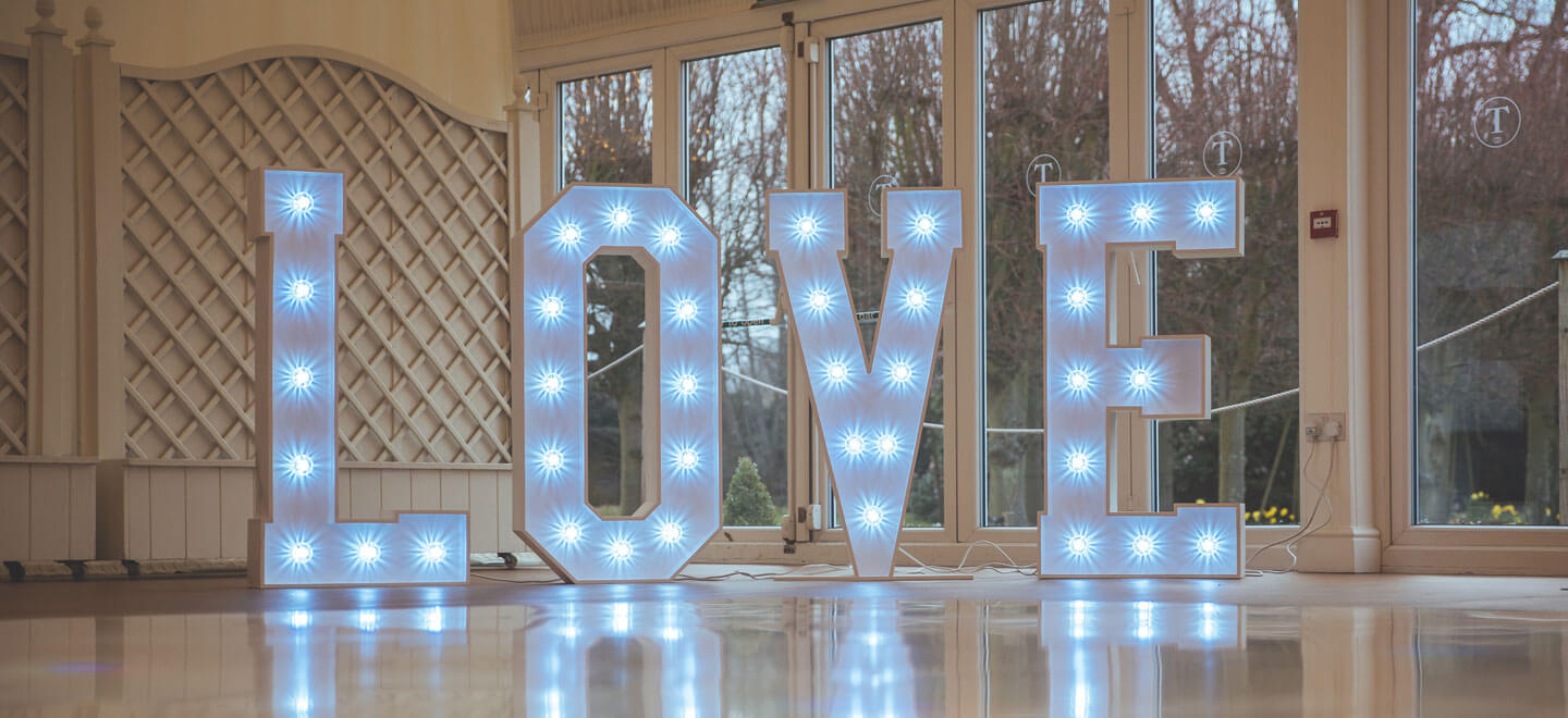 Love-sign-at-Parklands-gay-wedding-essex-venue-the-gay-wedding-guide-house