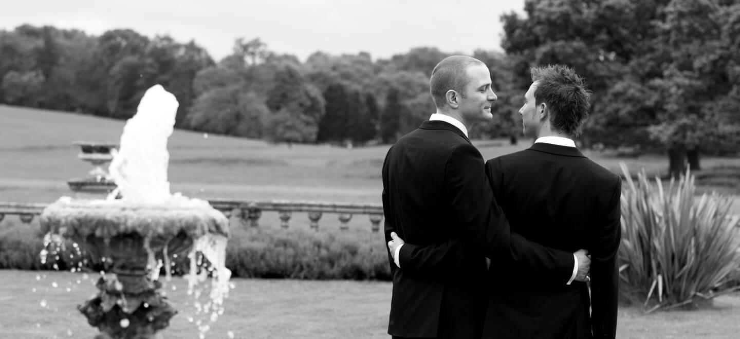 Same-sex-wedding-at-Parklands-gay-wedding-essex-venue-the-gay-wedding-guide-house