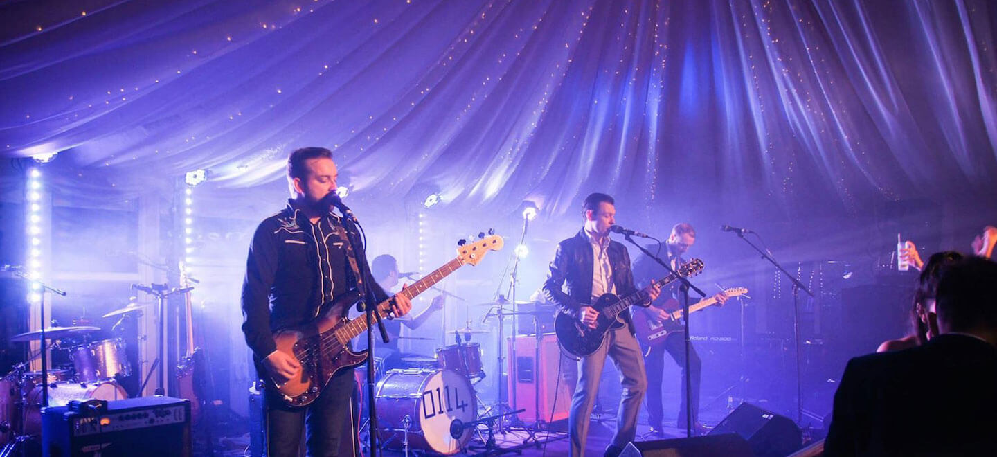 Wedding-band-at-Parklands-gay-wedding-essex-venue-the-gay-wedding-guide-house