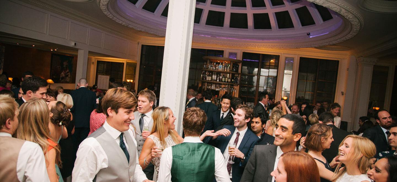 1-Lombard-Street-gay-wedding-venue-London-dancing-at-wedding-reception-via-the-Gay-Wedding-Guide