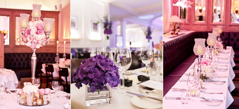1-Lombard-Street-gay-wedding-venue-London-flower-detail-at-wedding-reception-via-the-Gay-Wedding-Guide