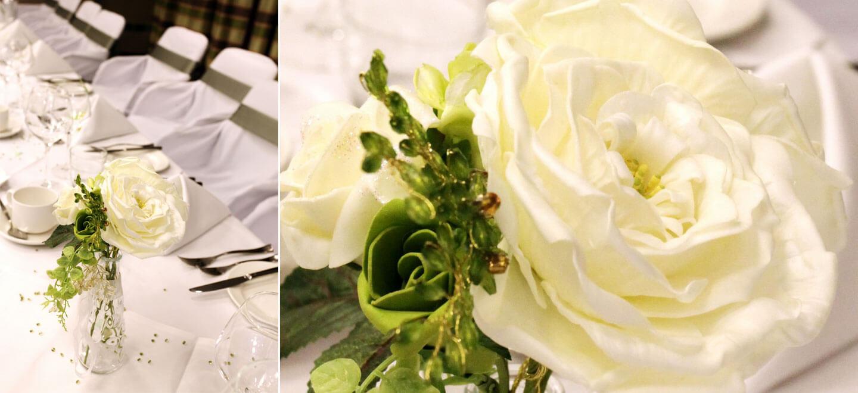 White-Wedding-Rose-at-Reading-wedding-venue-Holiday-Inn-Reading-gay-friendly-wedding-venue