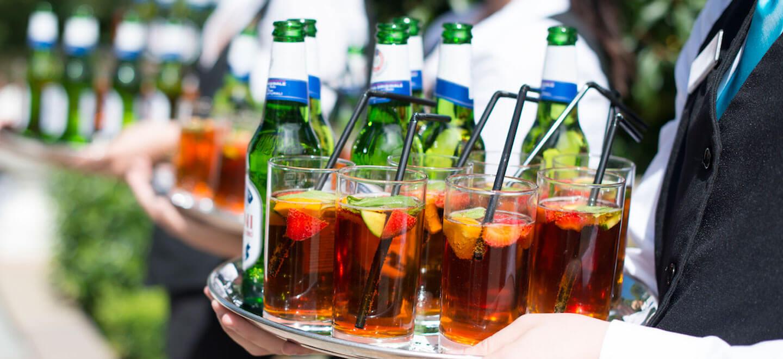 drinks-at-Warwick-House-luxury-gay-weddiung-venue-in-Warwickshire
