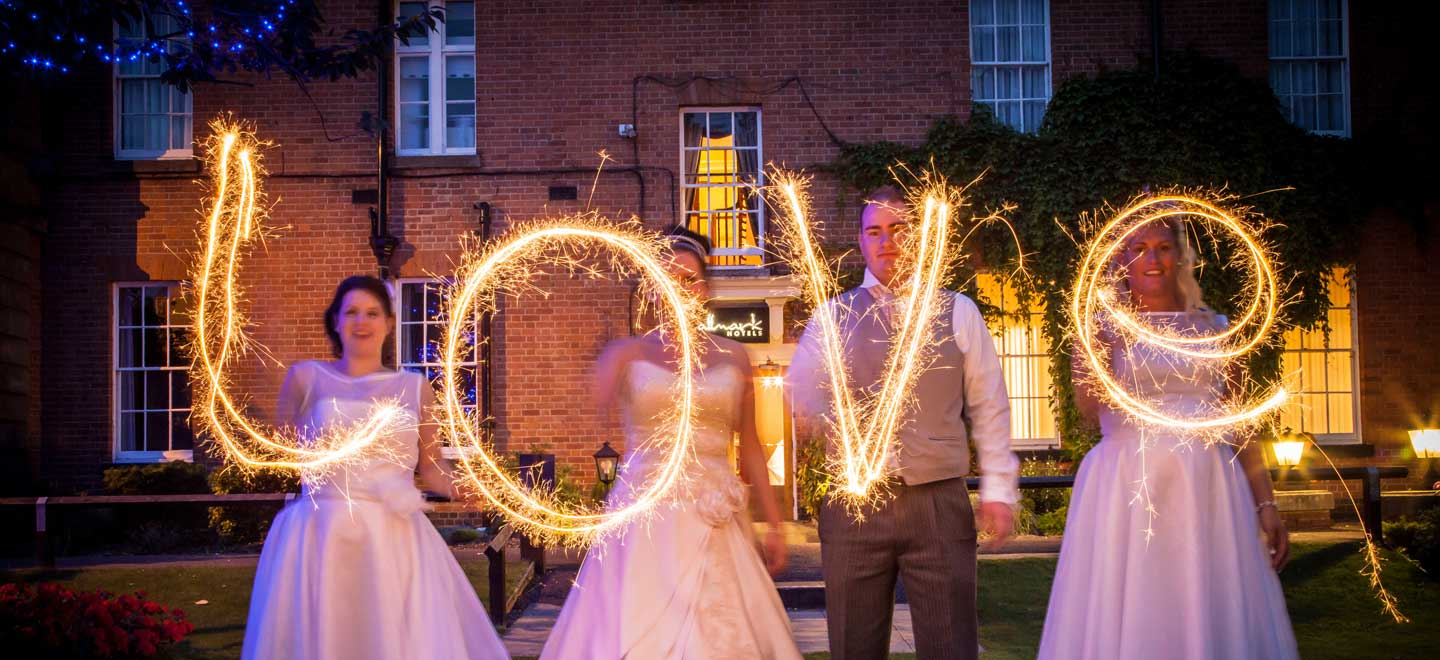 2-Love-Sparklers-at-gay-friendly-wedding-venue-Hallmark-Hotel-Derby-Midland-via-The-Gay-Wedding-Guide