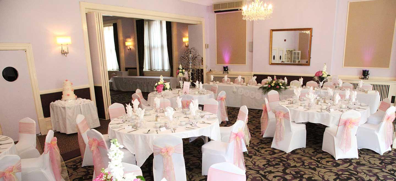 7-Wedding-Breakfast-at-gay-friendly-wedding-venue-Hallmark-Hotel-Derby-Midland-via-The-Gay-Wedding-Guide