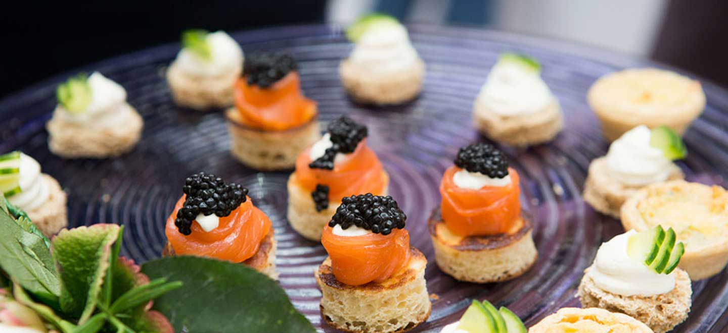 Canapes-at-The-Deck-unique-wedding-venue-London-Southbank-National-Theatre-gay-wedding-guide
