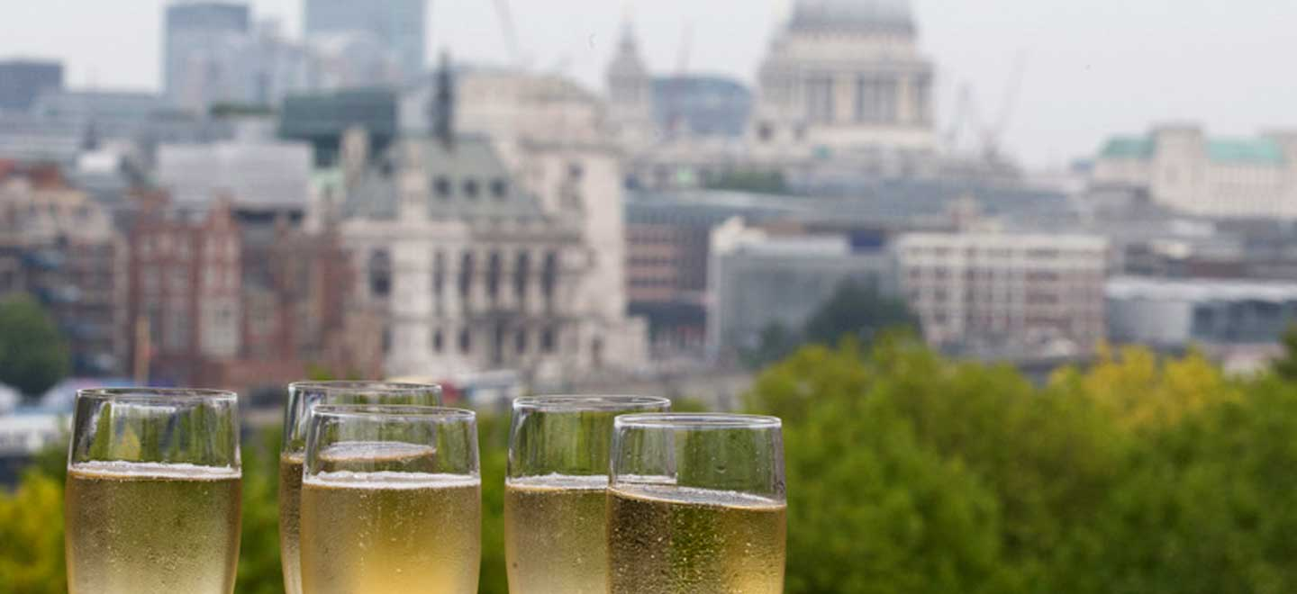 Champagne-at-The-Deck-unique-wedding-venue-London-Southbank-National-Theatre-gay-wedding-guide