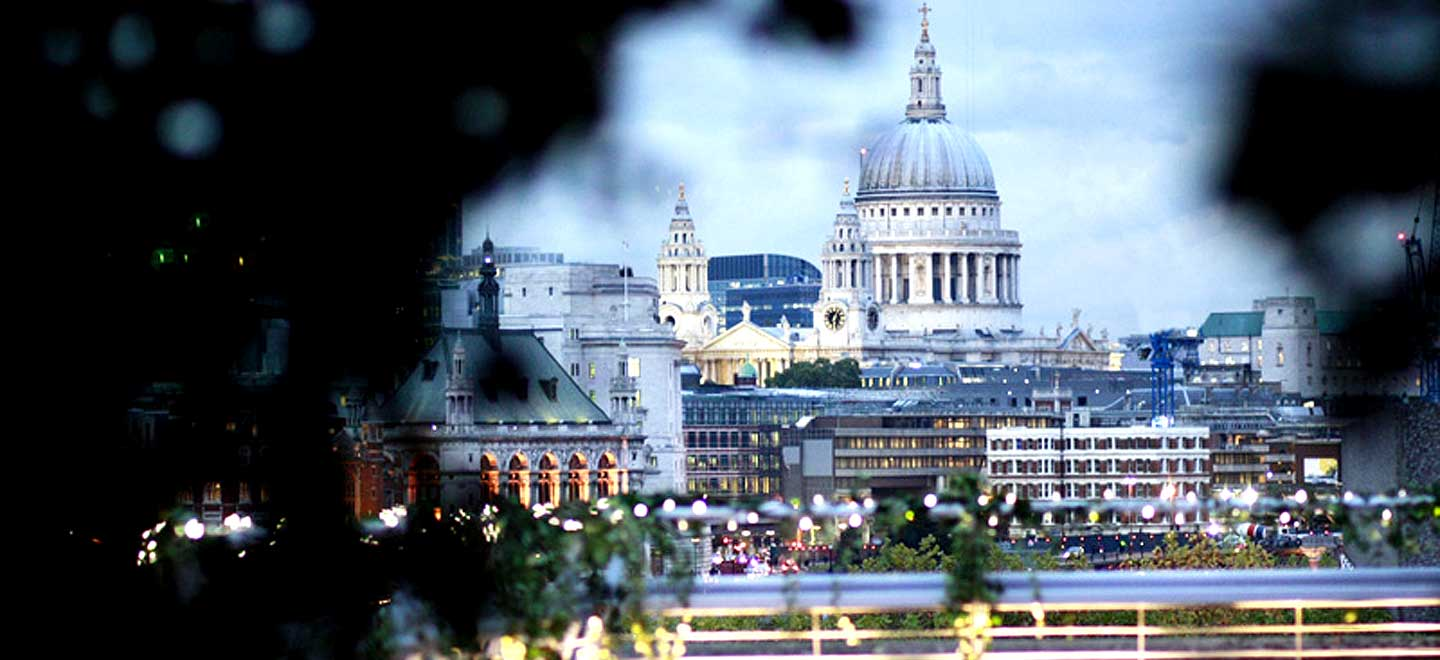 View-of-St-Pauls-at-The-Deck-unique-wedding-venue-London-Southbank-National-Theatre-gay-wedding-guide