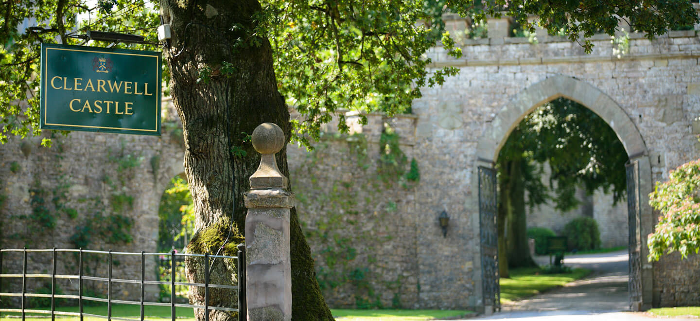 Clearwell-Castle-Entrance-Castle-wedding-Venue-Gloucesershire-via-The-Gay-Wedding-Guide