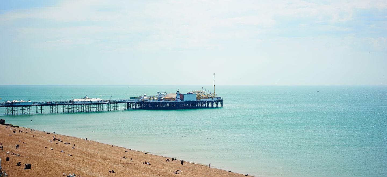 view-of-Brighton-Pier-from-Brighton-Harbour-Hotel-gay-friendly-wedding-venue-in-Brighton