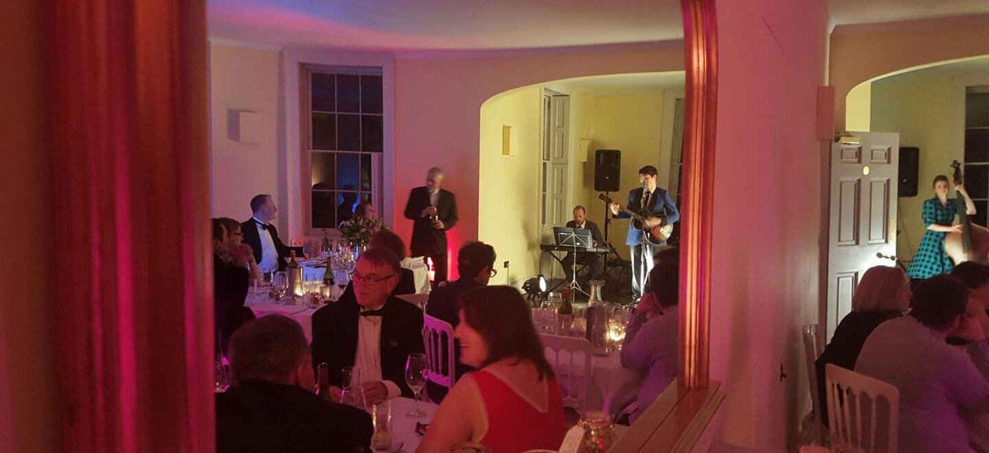 Drawing-room-evening-band-at-Clissold-House-Stoke-Newington-Wedding-Venue-N16-via-The-Gay-Wedding-Guide