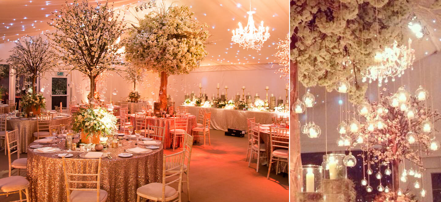 Iscoyd-Park-hanging-candles-in-marquee-Shropshire-gay-wedding-venue-via-the-Gay-Wedding-Guide