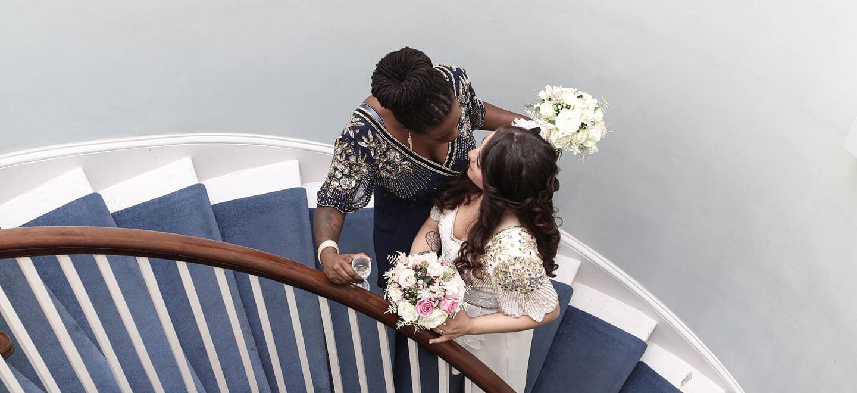 London-Lesbian-Wedding-at-Clissold-House-Stoke-Newington-Wedding-Venue-N16-via-The-Gay-Wedding-Guide