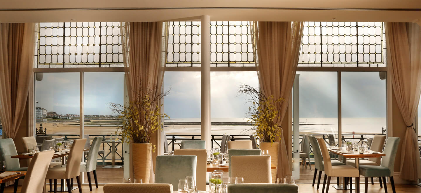 Sea-View-Restaurant-at-Sands-Hotel-Margate-wedding-venue-a-beach-wedding-venue-featured-on-The-Gay-Wedding-Guide