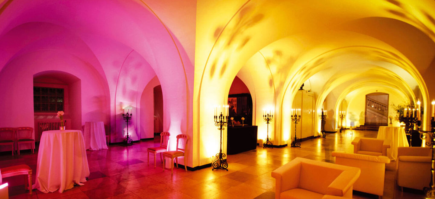 The Undercroft at Banqueting House a Royal Palace Wedding Venue in London via the Gay Wedding Guide - Haunted & Gothic: 13 Fascinating Alternative Wedding Venues