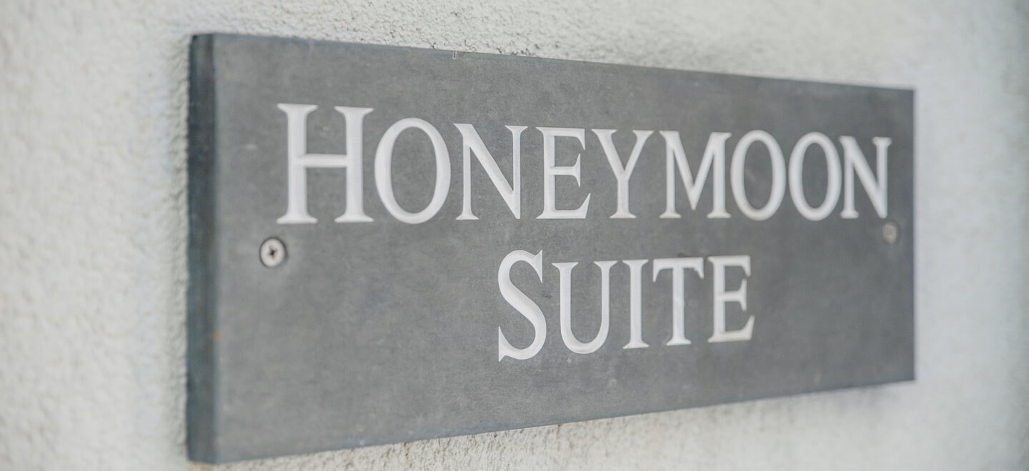 honeymoon-suite-sign-at-Polpier-Cornwall-wedding-venue-via-the-gay-wedding-cornwall-guide