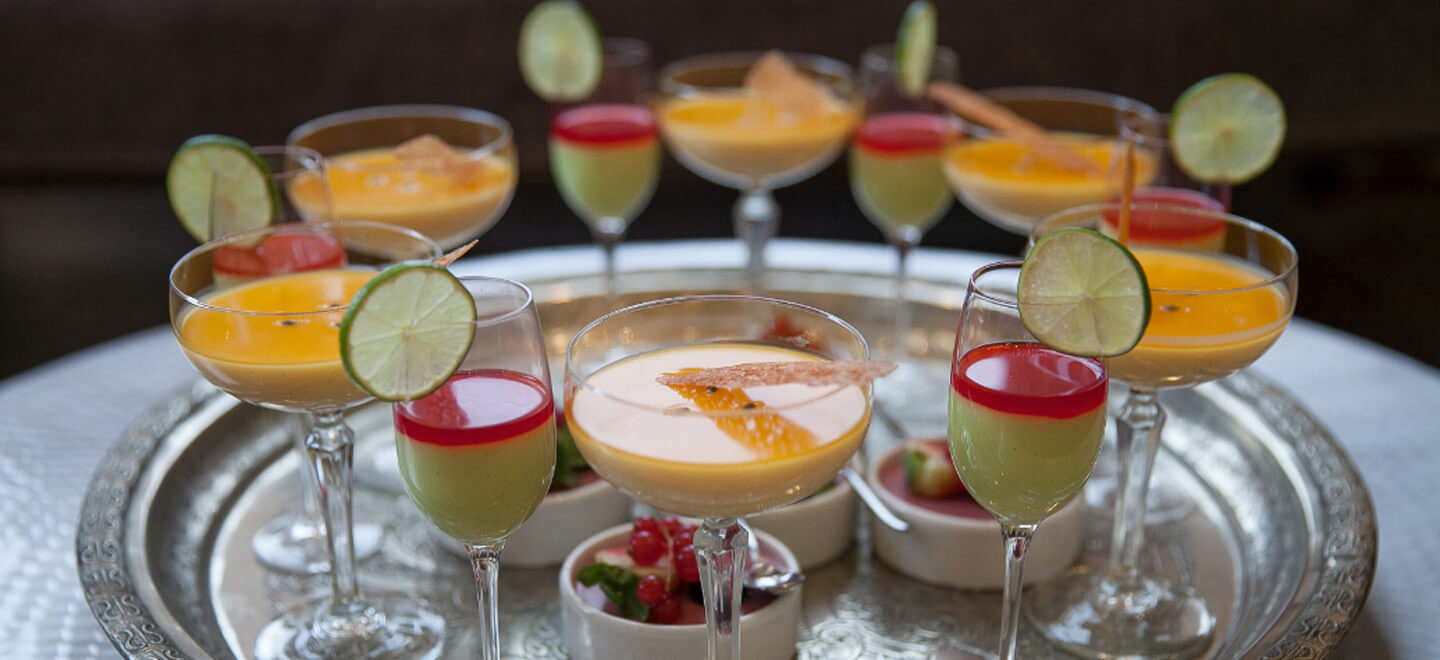 summer-cocktails-on-tray-at-Amalfi-White-wedding-venue-Derbyshire-gay-wedding-guide