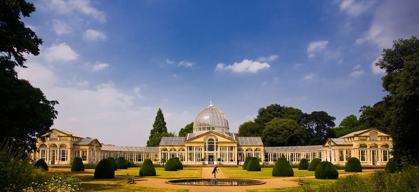 Beautiful Dome at Syon Park a uniquegay wedding venue in Middlesex near London featured on the Gay Wwedding Guide