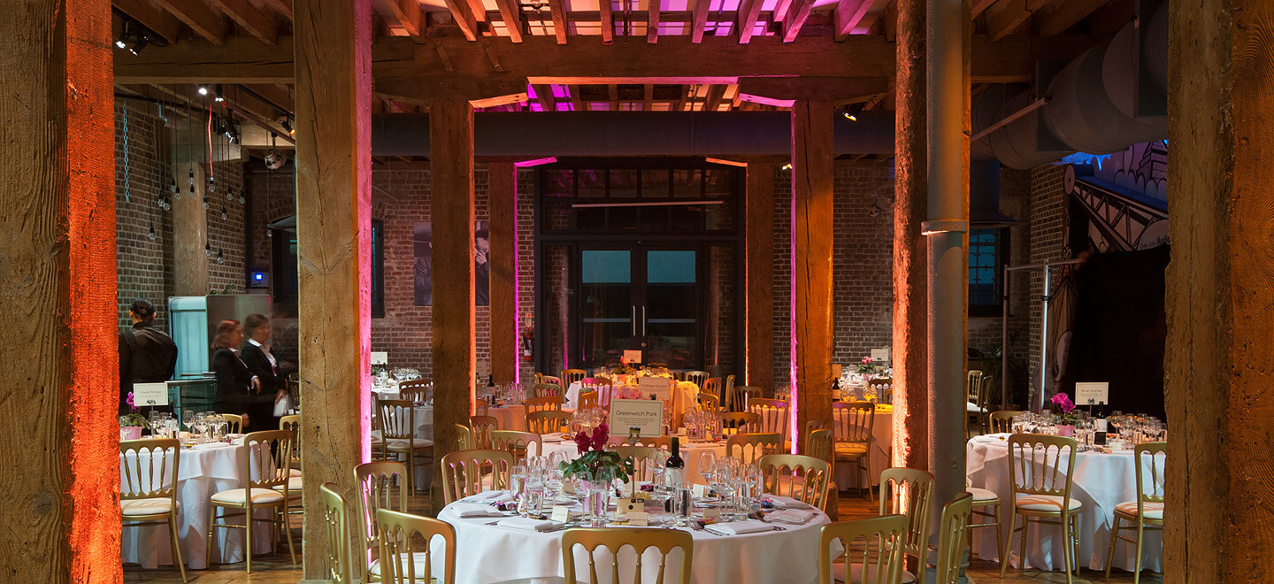Museum of London Docklands City Museum Wedding Venue London Reception Layout 3 Gay Wedding Guide