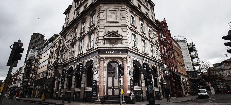 External View of St Barts Brewery Wedding Venue EC1 London Gay Wedding Guide 1