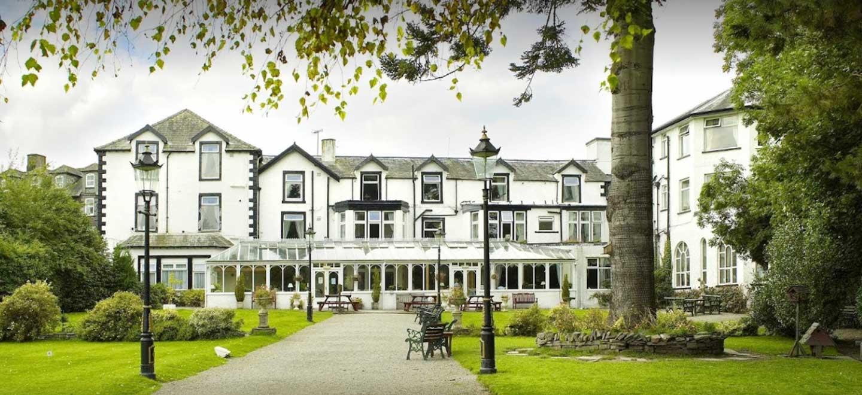 External of Derwentwater Hotel Wedding Venue Lake District Gay Wedding Guide 1