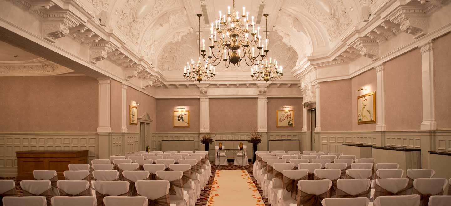 ceremony room at St Ermins Hotel Westminster Wedding Venue SW1 Gay Wedding Guide 1