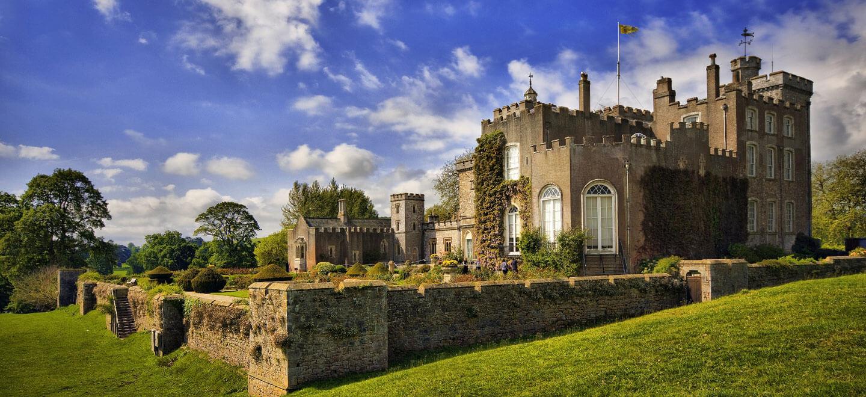 Powderham Castle north lawn lesbians wedding venue Devon Gay Wedding Guide 1