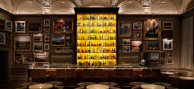 The bar at The London EDITION hotel soho wedding venue gay wedding guide 1