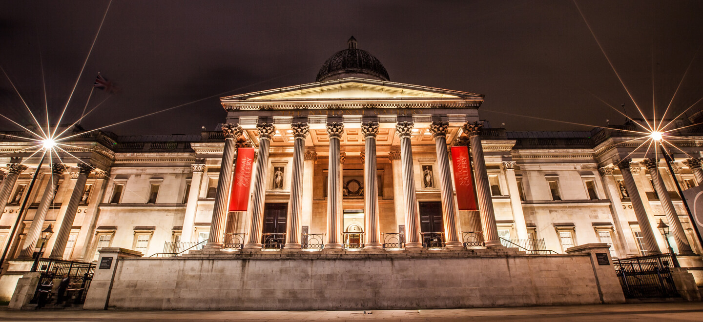 External view of National Gallery wedding venue central London gay wedding Guide 1