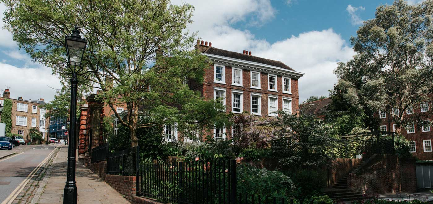 Exterior of Private House wedding Venue London Gay Wedding Guide