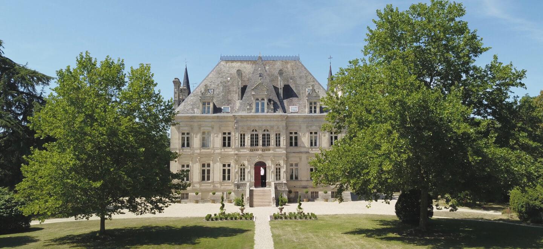 Chateau de la Valouze external view gay destination wedding south of france 1 1