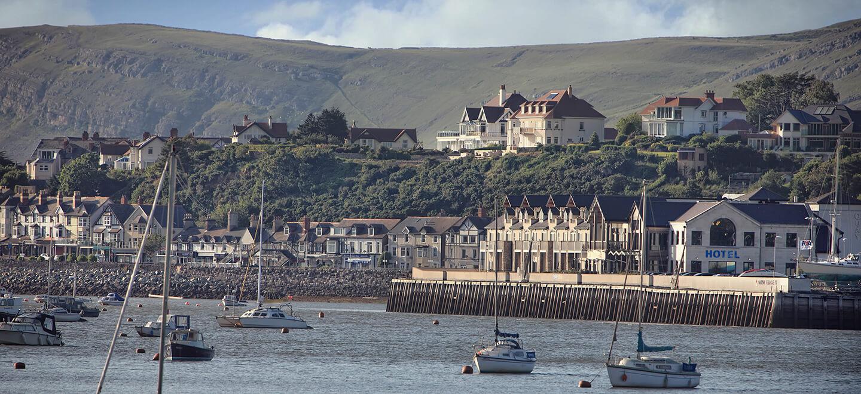 Ocean outlook at Quay Hotel beach wedding venue Wales gay wedding guide 1