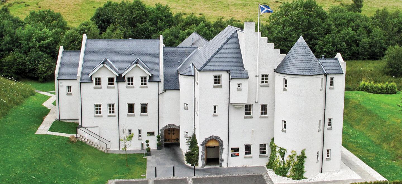 Glenskirlie House Castle Wedding Venue in Scotland Gay Wedding Guide