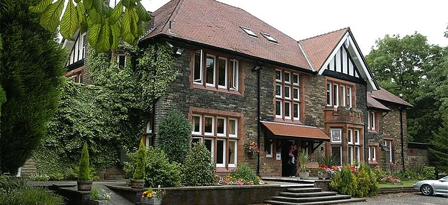 external 1 view of Whitehal Hotel country house wedding venue Lancashire gay wedding guide 1