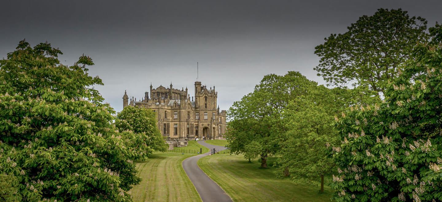 External view of Allerton Castle wedding venue yorkshire gay wedding guide 1