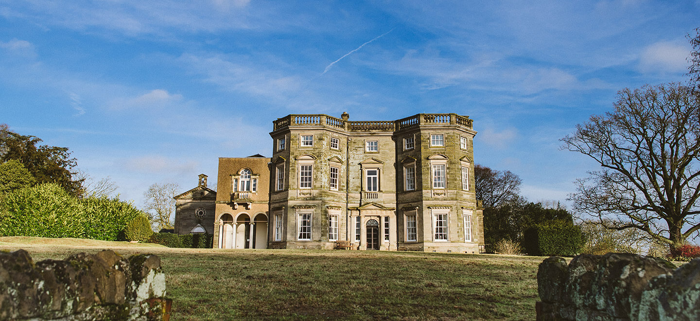 External view of Bourton Hall 2 country house wedding venue Warwickshire Gay Wedding Guide 1
