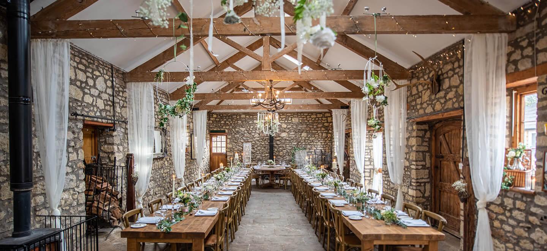 Barn breakfast Old Dwn Manor barn wedding venue bristol gay wedding guide 1