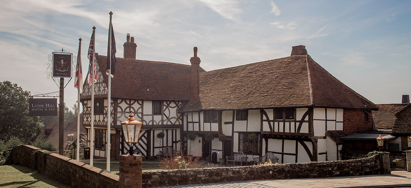 Tudor House at Lythe Hil country house wedding venue surrey gay wedding guide 1