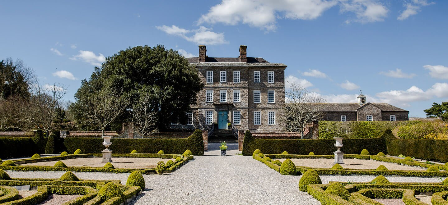 External view of Kingston Estate Country House Wedding Venue Devon Gay Wedding Guide 1