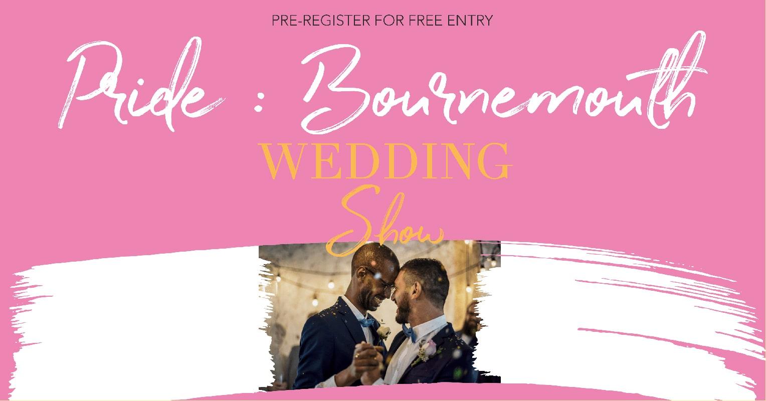 pride dorset bournemouth wedding show banner min 1
