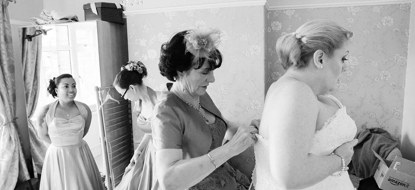 1 brides prepare for wedding image by Erica Tanith Photography via Gay Wedding Guide 6