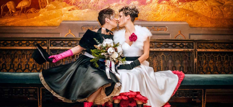 12 Lesbian Wedding Brighton copyright Shotgun Weddings via The Gay Wedding Guide 6