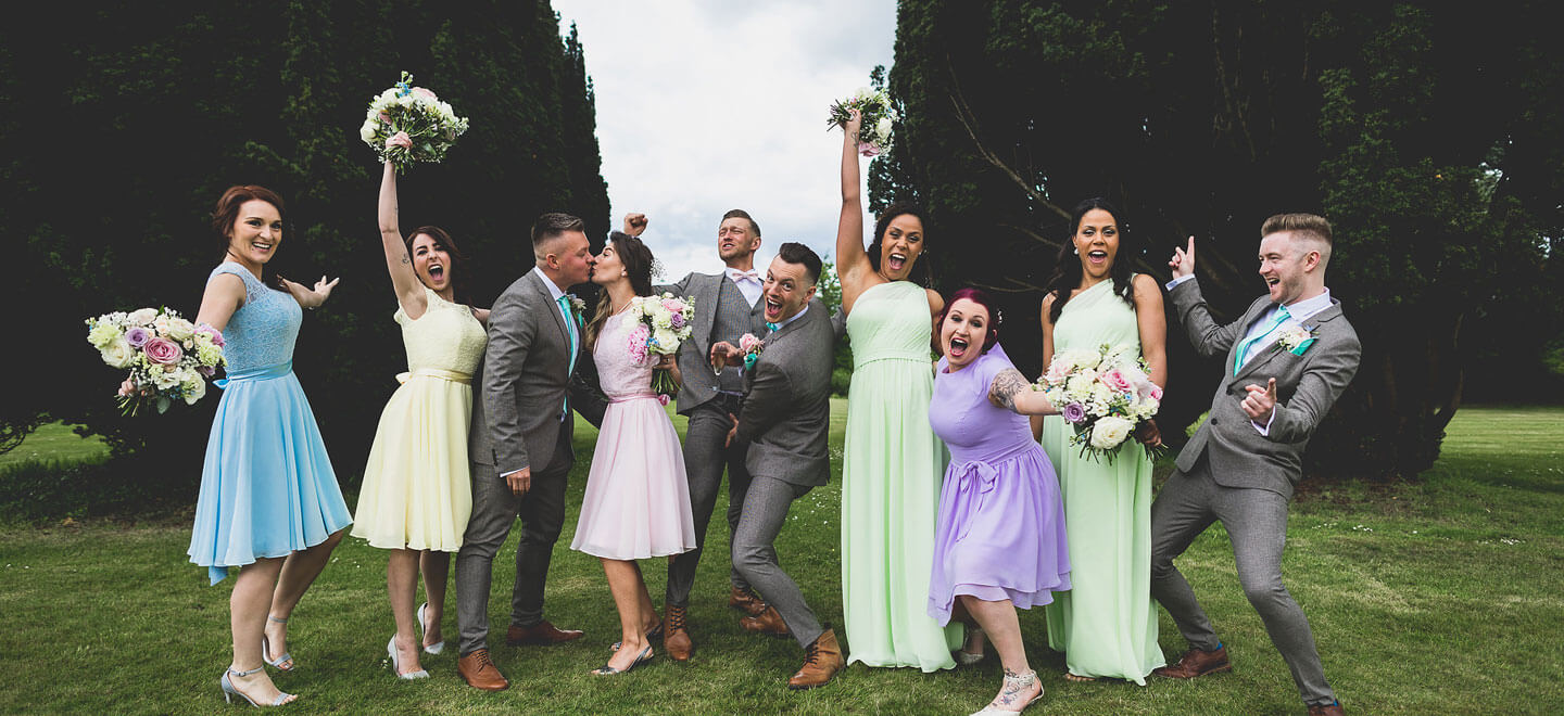 1440 Best men and women at Scott and Guys gay wedding image copyright Hannah Hall Photography via The Gay Wedding Guide 3